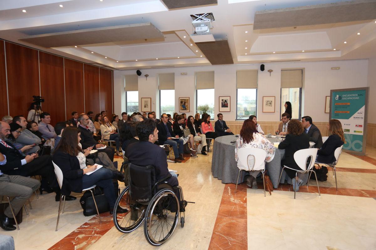 SEVILLA. 12.5.16. Jornadas Discapacidad ABC. FOTO: VANESSA GOMEZ. archsev